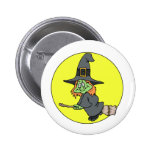 Silly Witch Buttons