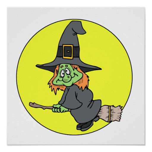 Silly Witch Print