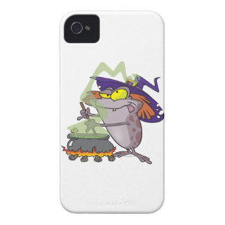 silly witchy witch halloween toad cartoon iPhone 4 case