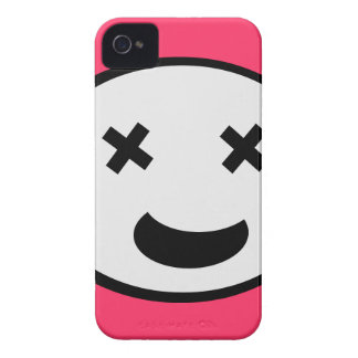 Silly X Eyes Oval Face iPhone 4 Cover