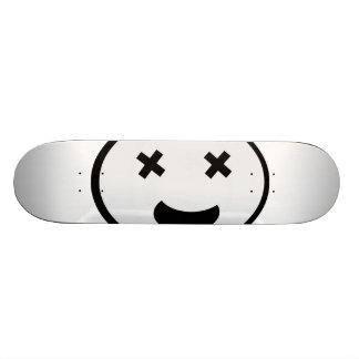 Silly X Eyes Oval Face Skate Decks