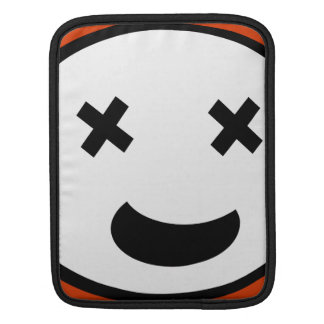 Silly X Eyes Oval Face Sleeves For iPads