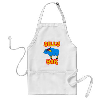 Silly Yak Adult Apron