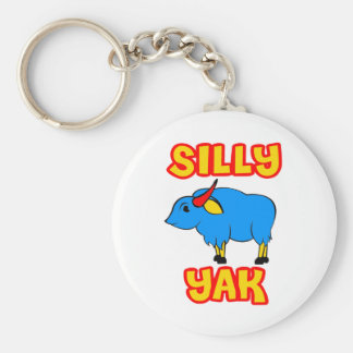 Silly Yak Keychain