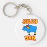 Silly Yak Keychains