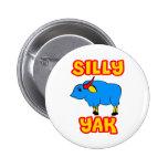 Silly Yak Pinback Button