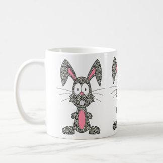 Silly Zebra Bunny Coffee Mug