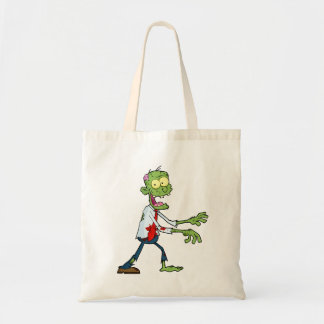 Silly Zombie Halloween Tote Bag