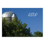 Silo and Blue Sky Farm Wedding Response Card Large Business Cards (Pack Of 100)