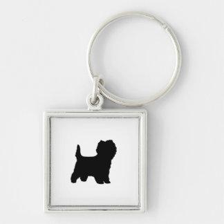 silo black.png del terrier de mojón llaveros personalizados