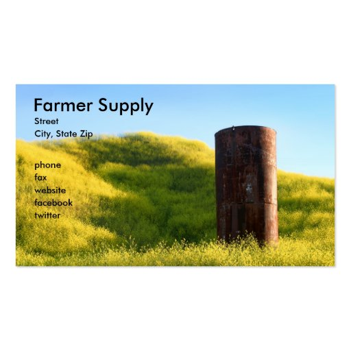 Silo Double-Sided Standard Business Cards (Pack Of 100)