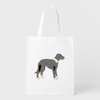 silo color.png del perro del leopardo del bolsas para la compra