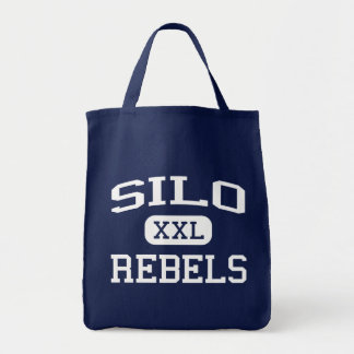 Silo - Rebels - Silo High School - Durant Oklahoma Tote Bag