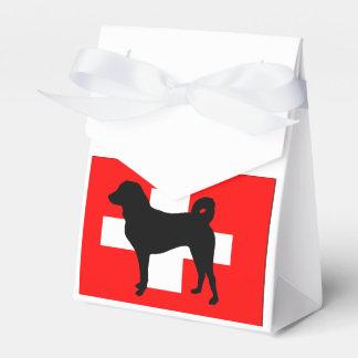 Silo Suiza flag.png de Appenzeller Sennenhund Caja Para Regalos