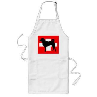 Silo Suiza flag.png de Appenzeller Sennenhund Delantal Largo