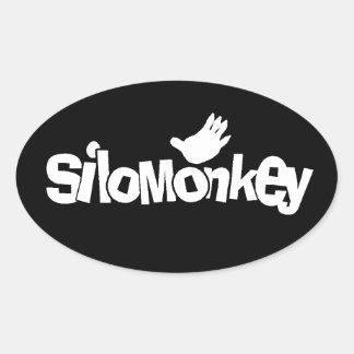 SiloMonkey Oval Sticker