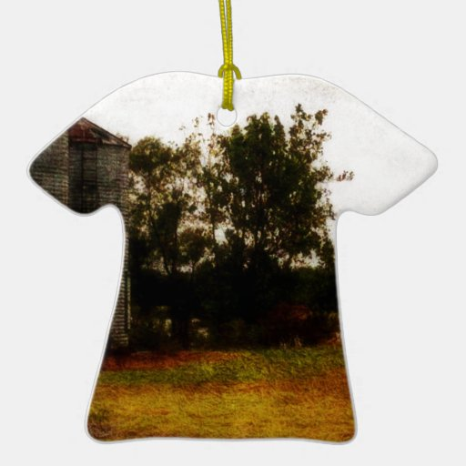 Silos de Mississippi Adorno De Cerámica En Forma De Camiseta