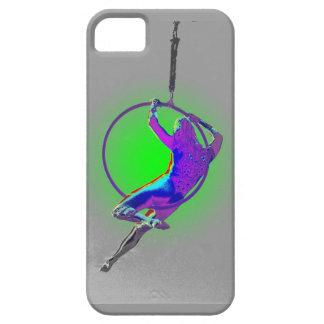 silouette acrobático del iPhone 5 - neón de Grean iPhone 5 Carcasas