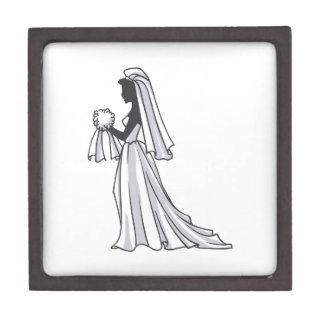 SILOUETTE BRIDE PREMIUM JEWELRY BOX