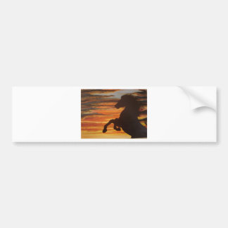 Silouette Bumper Stickers