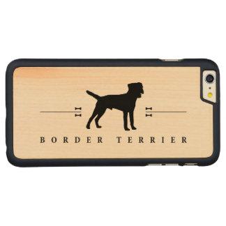 Silueta -1- de Terrier de frontera