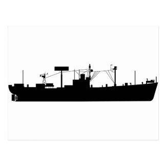 Silueta AGR-15 del trazalíneas de USS Postal