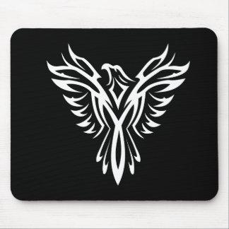 Silueta artística de Eagle Mousepad