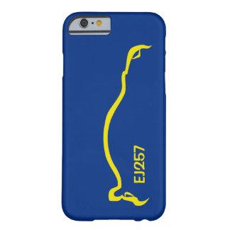 Silueta azul amarilla del STI EJ257