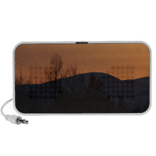 Silueta boreal de BOSI iPod Altavoz