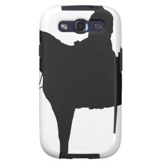 Silueta canadiense del Mountie Samsung Galaxy S3 Coberturas