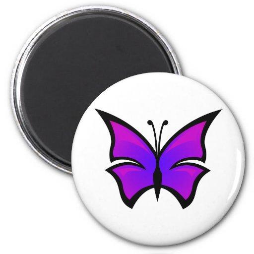 Silueta Caterpillar del insecto del monarca de la Imán Redondo 5 Cm