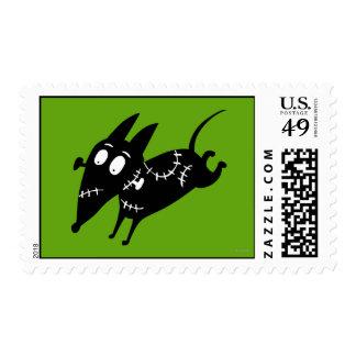 Silueta corriente vivaracha sello postal