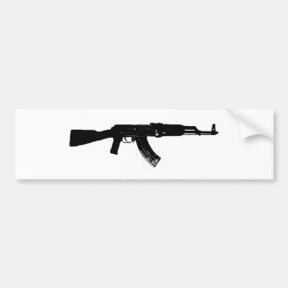 Silueta de AK-47 Pegatina Para Auto