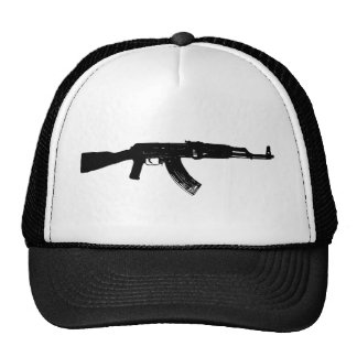 Silueta de AK-47 Gorro