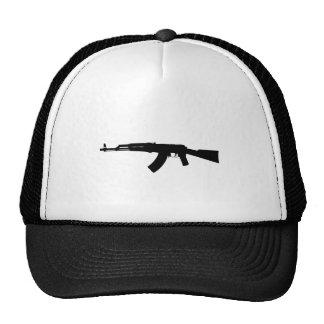 Silueta de AK-47 Gorro De Camionero