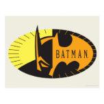 Silueta de Batman Postal