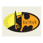 Silueta de Batman Postales