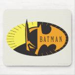 Silueta de Batman Tapetes De Ratones