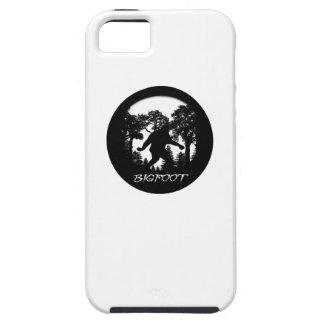 Silueta de Bigfoot Funda Para iPhone 5 Tough