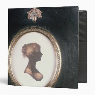 """Silueta de Cassandra Austen, c.1809 Carpeta 1 1/2"""""""