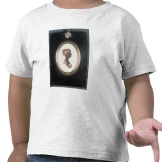 Silueta de Cassandra Austen, c.1809 Camisetas