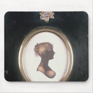 Silueta de Cassandra Austen, c.1809 Alfombrilla De Raton