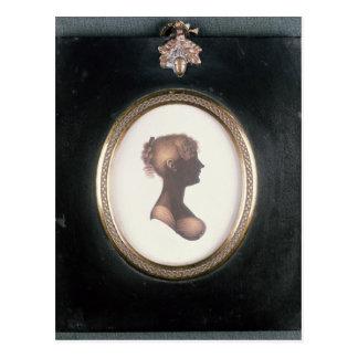 Silueta de Cassandra Austen, c.1809 Postales