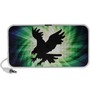 Silueta de Eagle calvo; Fresco Altavoz De Viajar