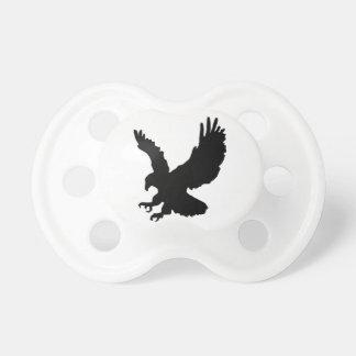 Silueta de Eagle Chupete De Bebe