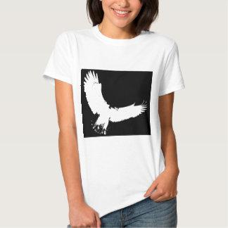 Silueta de Eagle Polera