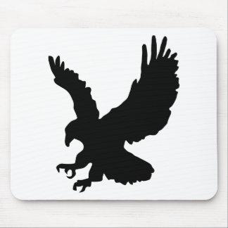 Silueta de Eagle Tapetes De Raton