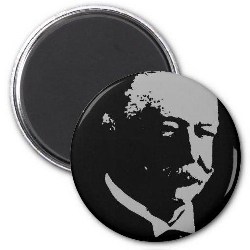 Silueta de Guillermo H. Taft Imán