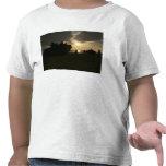 Silueta de infantes de marina camiseta