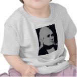 Silueta de James K. Polk Camiseta